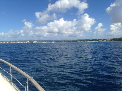 Nach 17 Tagen kommt Barbados in Sicht