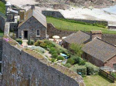 Gemütliches Wohnen auf Elizabeth Castle